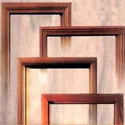 besides on the back side of the door frame which is attached to the wall we have done two grooves so that the frames are stuck strongly into the wall - Wood Door Frame